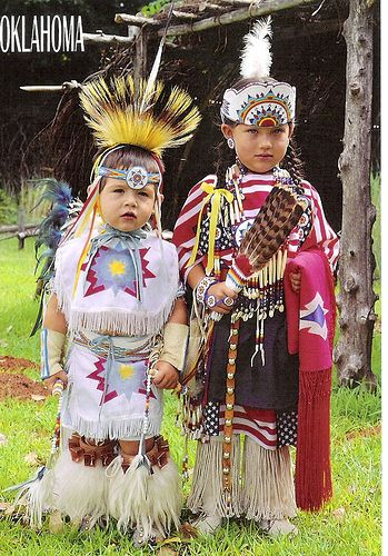 US | Oklahoma | Native American children by duffeli