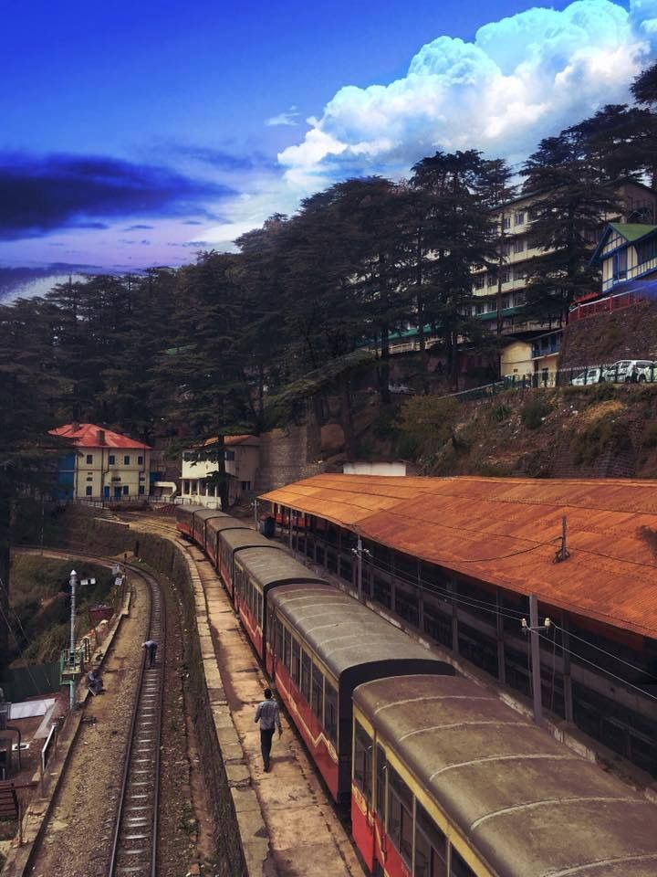 Shimla railway station.