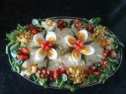 Afbeeldingsresultaat voor aardappelsalade garneren