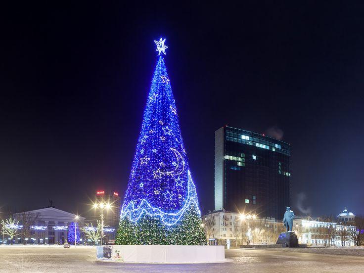 Новый год 2017 Донецк.