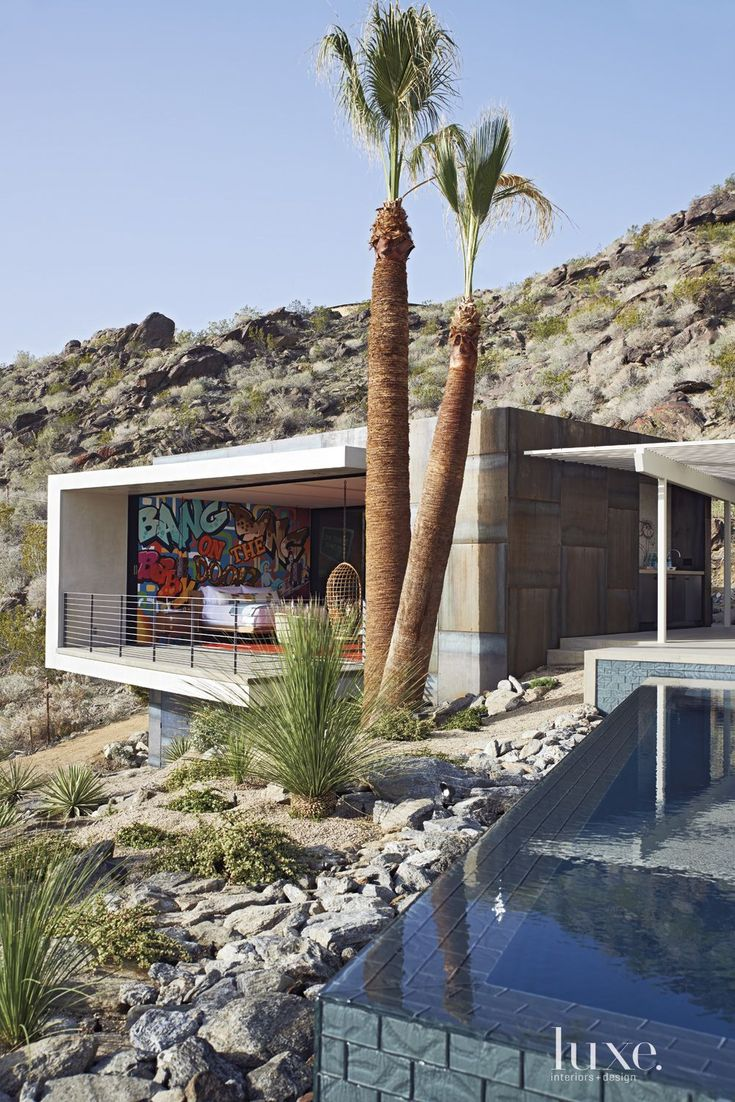 Best Palm Springs Images On Pinterest Palm Springs - A mid century desert oasis in palm springs