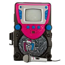 Monster High CD and Karaoke Player with Screen