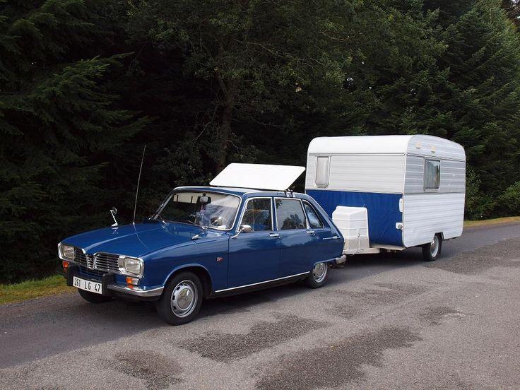 Renault 16 Passion Les Vacances En R16 Avec Une Caravane Digue Cars Pinterest