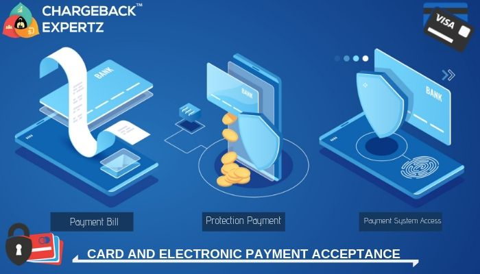 Card And Electronic Payment Acceptance Cards Acceptance