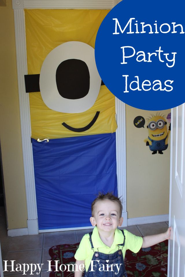 minion party ideas - this party is SO CUTE