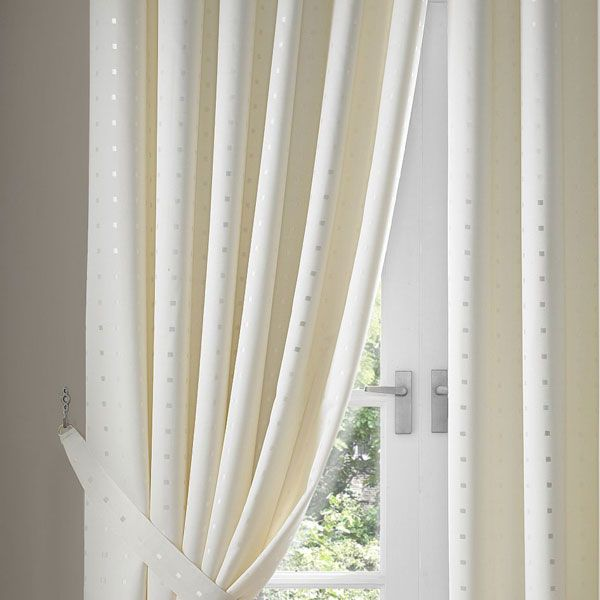 madison cream pencil pleat curtains