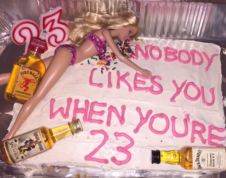 nobody likes you when youre 23 blink 182 barbie birthday