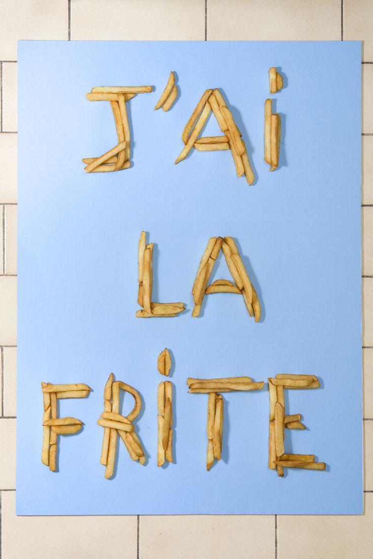 avoir la frite= to feel great, full of energy.