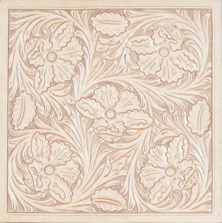 Leather tooling pattern patterns карвинг