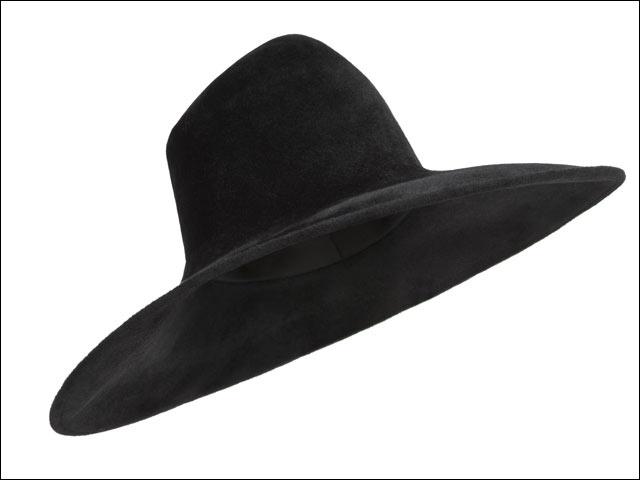 Armani_ cappello falda larga AI 2012