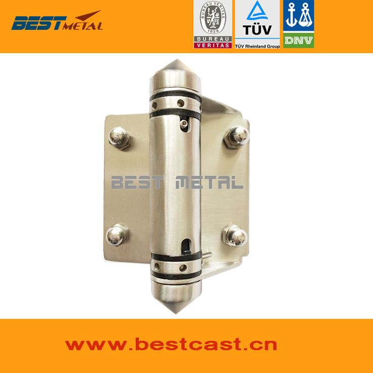 BEST METAL Mirror polish 316 Stainless steel Self Closing Hinge of glass to glass
