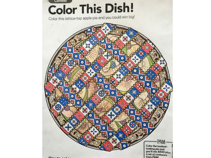 Food Network Magazine Coloring Contest Winners