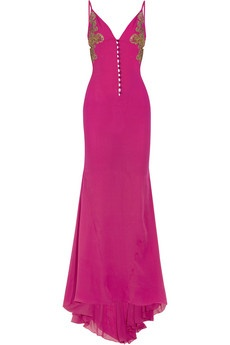 This beautiful pink, fusia colored dress is so my style; its trendy, classy, & yet sassy  ;)