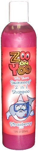 Zoo On Yoo Silly Shark Swimmers' 2 in 1 Shampoo - Strawberry 10 oz *** Visit the image link more details.