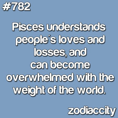 the weight of the world. #Pisces