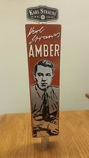 KARL STRAUSS AMBER SESSION ALE Beer Tap Handle