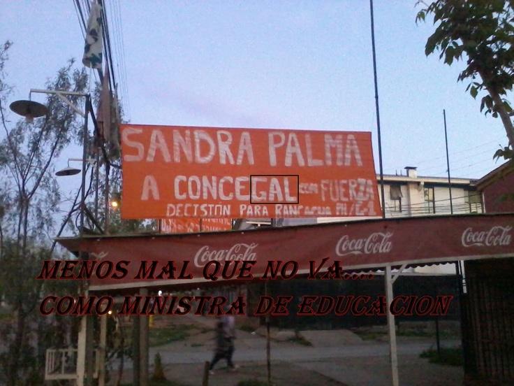 """Por una educación de calidad vota Sandra Palma """"concegal"""""""