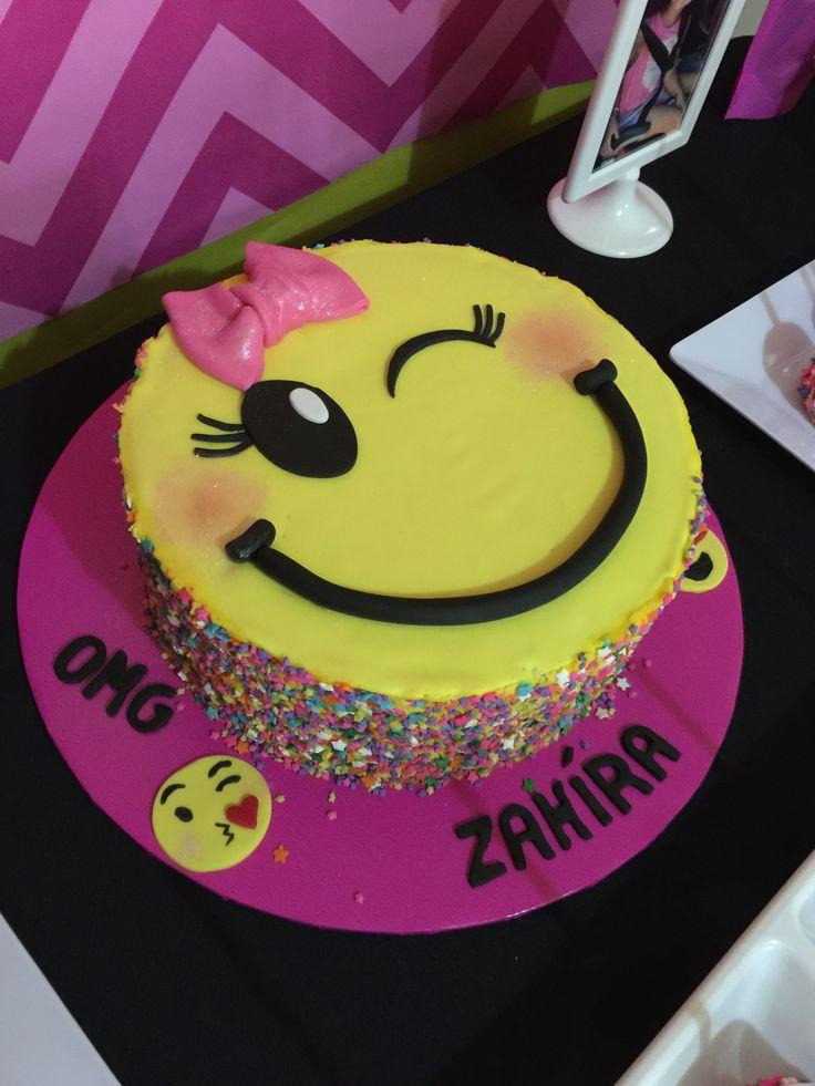 Emoji Birthday Cupcakes Cake