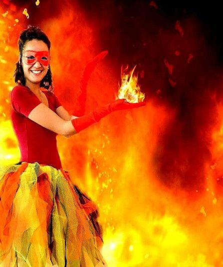 Fire girl / feu