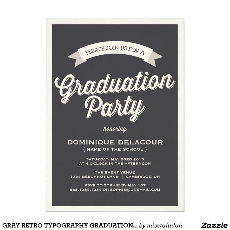 make a graduation invitation online free