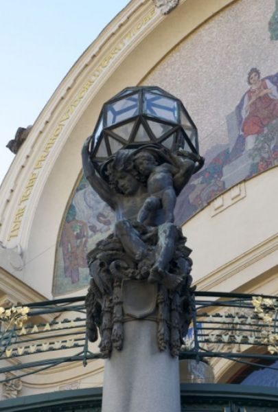Art Nouveau Architecture And Sculpture Prague