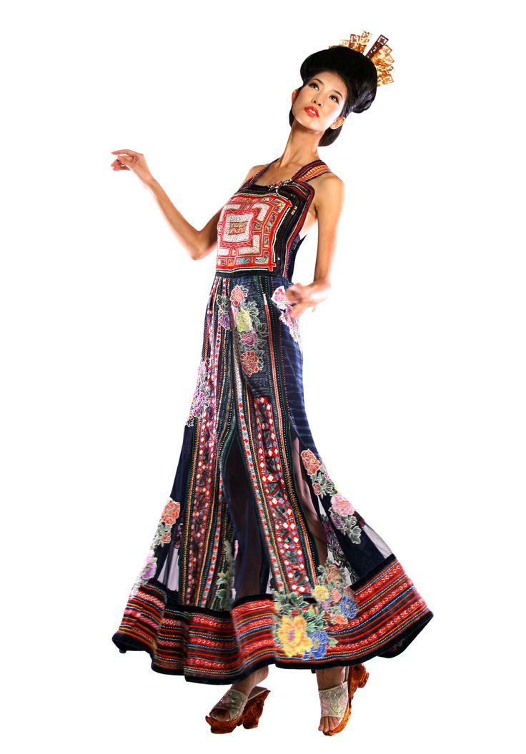 Minh Hanh.Vietnamese Fashion Designer. France 2012  Photo: Huy Anh.  Model: Trang Pham