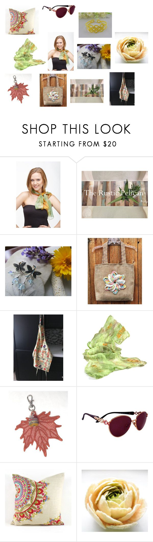 """Per te mamma"" by acasaconmanu ❤ liked on Polyvore featuring Simonetta Ravizza and Giallo"