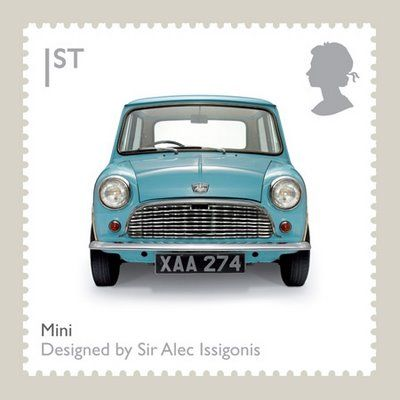 The Mini - a British classic designed by Sir Alec Issigonis, who was born in Smyrna (today Izmir, Turkey) in 1906. His father Konstantin Issigonis (Κωνσταντίνος Ισηγόνης) was Greek with british nationality and his mother Hulda Prokopp was from the south of Germany.