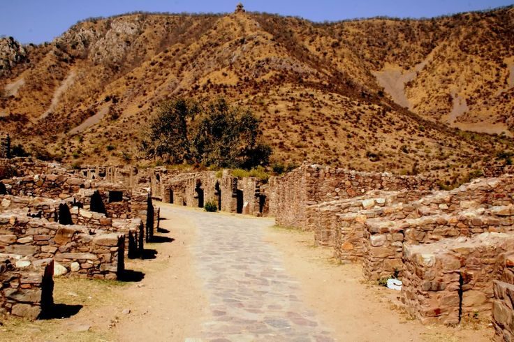 Bhangarh is a town in Rajasthan, India,  this place is in the between of Jaipur and Alwar  and it is an historic place ruins within the Bhangarh Fort it was built in 1613. Now it is famous for Haunted places and many tourist visit this place.