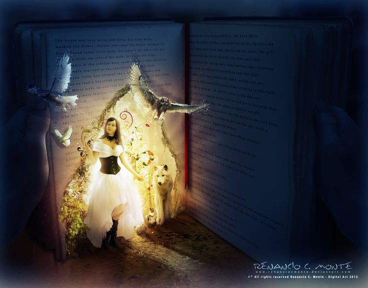 The Magic Book by renanciocmonte.deviantart.com on @DeviantArt