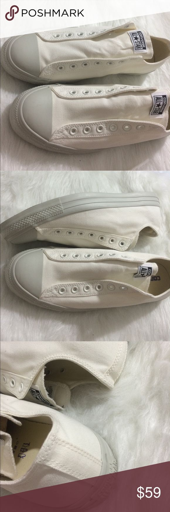 🇺🇸SALE❗️Converse slip on Mens size 11 shoes Brand new without box. Size 11. Customized on the converse website. One of a kind. Ships same day or very next. ✨ Converse Shoes Sneakers