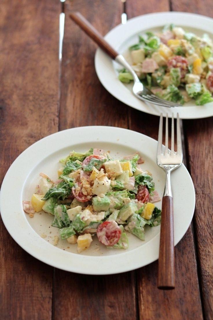 コブサラダ風チョップドサラダ。 by 栁川かおり   レシピサイト「Nadia   ナディア」プロの料理を無料で検索