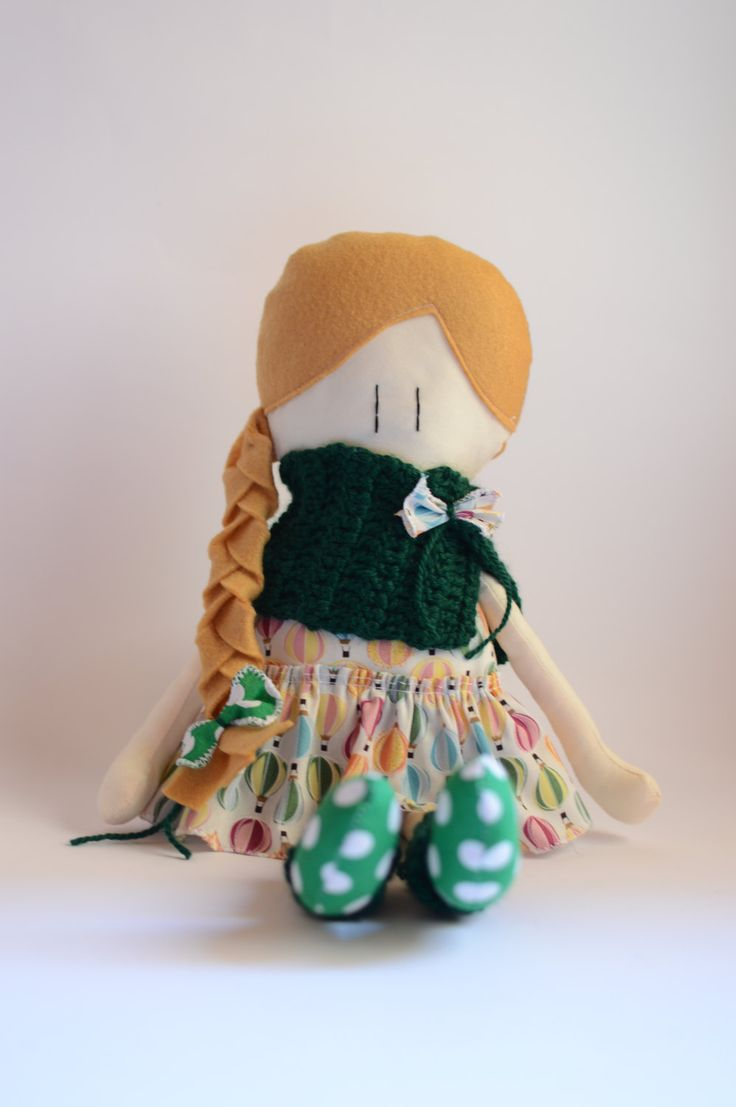 Le Amicoccole: bambole fatte a mano con amore, amiche portatrici di coccole. Le trovi nel mio Etsy Shop.