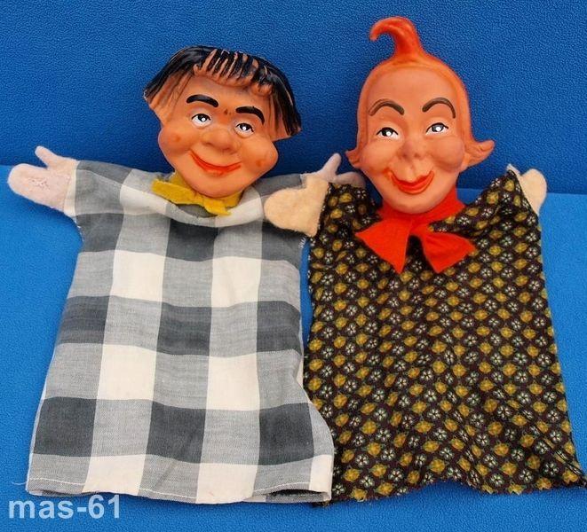 Max & Moritz, 2 vreemde poppenkastpoppen op Internet 📌. Rubber head hand puppets. Puppen. (661×600)