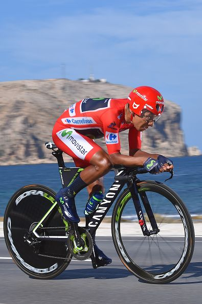 71st Tour of Spain 2016 / Stage 19 Nairo QUINTANA Red Leader Jersey / Xabia Calp…