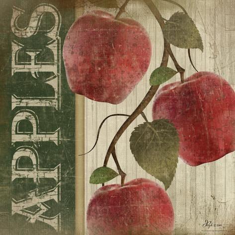 Red Apples Posters por Jennifer Pugh na AllPosters.com.br