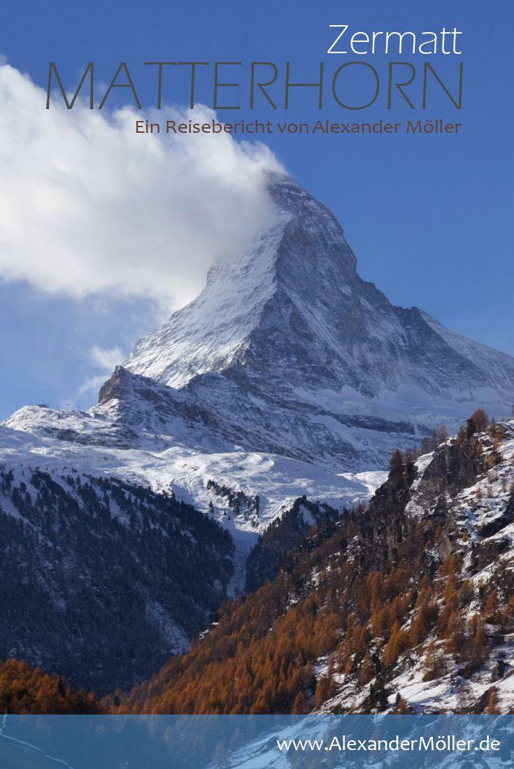 Matterhorn | Zermatt | Berge | Schweiz - Auf in die Berge, auf in die Schweiz hieß es im November 2017. Ein spontanes Wochenende das wie immer auf der A7 in Rothenburg ob der Tauber begann und diesmal das Ziel Zermatt und das Matterhorn in der Südlichen Schweiz im Bezirk Visp des Kantons Wallis hatte. Zermatt liegt im Mattertal auf einer Höhe von zirka 1610m am Nordostfuss des Matterhorns.