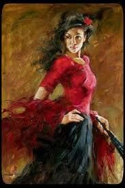 E Lavinia danzò. I lunghi capelli ondeggianti sulle braccia morbide, il corpo flessuoso come un giunco, le caviglie sottili sotto la tunica rossa, gli occhi neri fissi su di lui: occhi che lo cercavano, imperiosi e ardenti. Lavinia danzava, e Trevor si sentì scuotere dentro. Lavinia era il fuoco, era il vento fra le querce, era il profumo delle ginestre...   (La Stagione del Ritorno, Angela Di Bartolo - Runa Editrice)