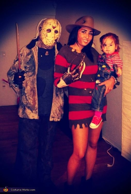 Shirley: My husband was Jason, My daughter was chucky and I was Freddy!.