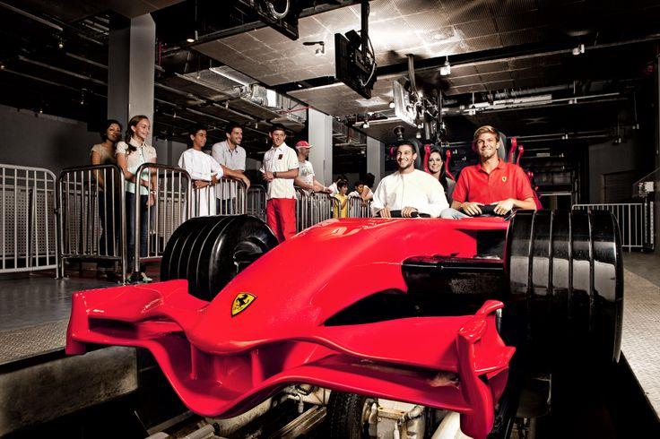 Enjoy the thrills of Ferarri World - including the fastest rollercoaster in the world - with Hala Abu Dhabi. Book now: www.halaabudhabi.com