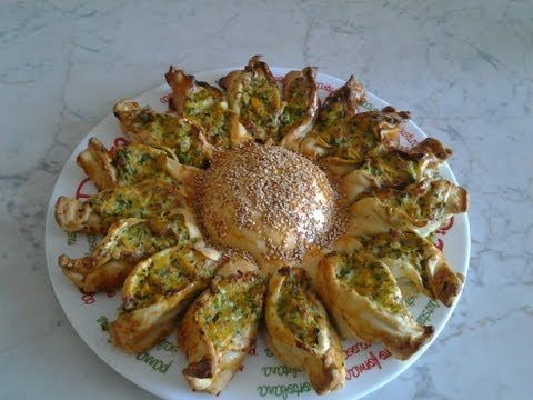 Girasole di Pasta Sfoglia - YouTube