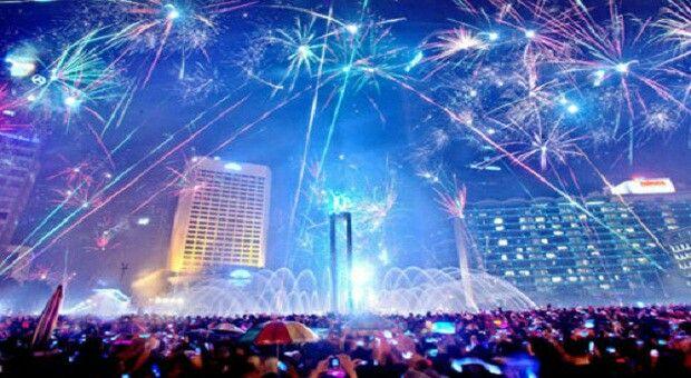new years in jakarta