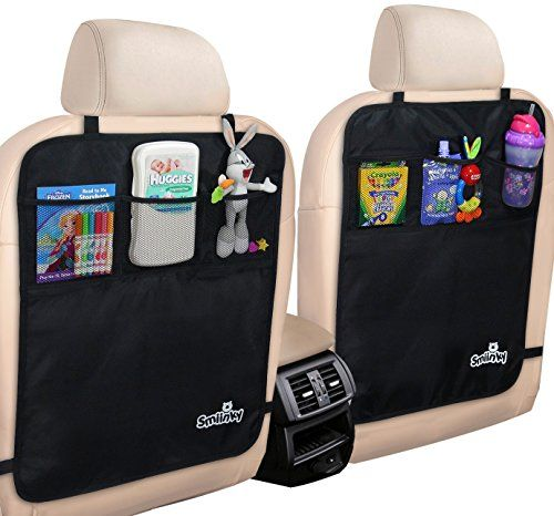 kick mats with organizer premium backseat protector to use as seat covers for your car suv