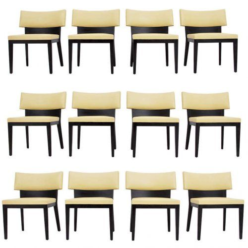 Christian Liaigre Dining Chairs Set Of 12
