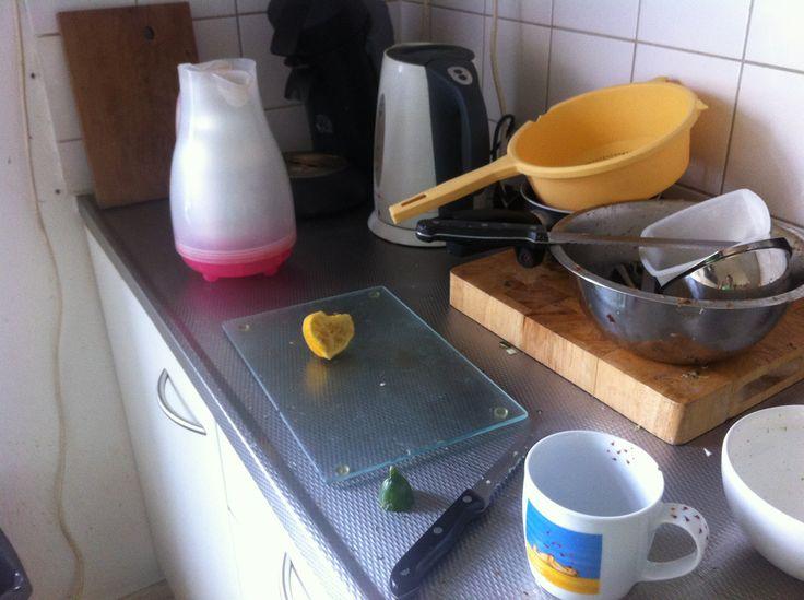 citroen <3 lemon clean up kitchen