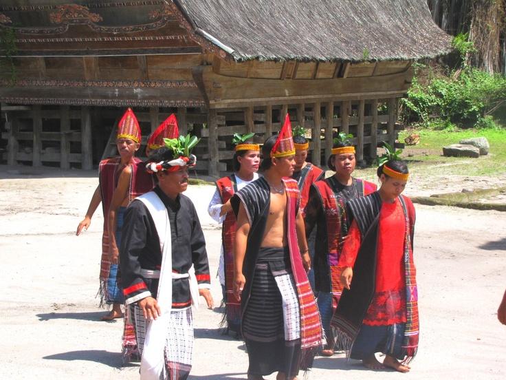 Local traditional dancing Sumatra