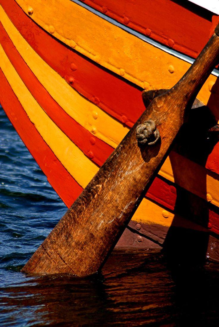 Viking Ship - Roskilde Fjord, Denmark