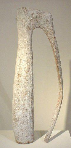 Fernando Casasempere, Untitled no. 10, 2002 height 59.5 cm, width 27 cm, depth 11 cm.   http://www.galeriebesson.co.uk/casa3exhib2.html