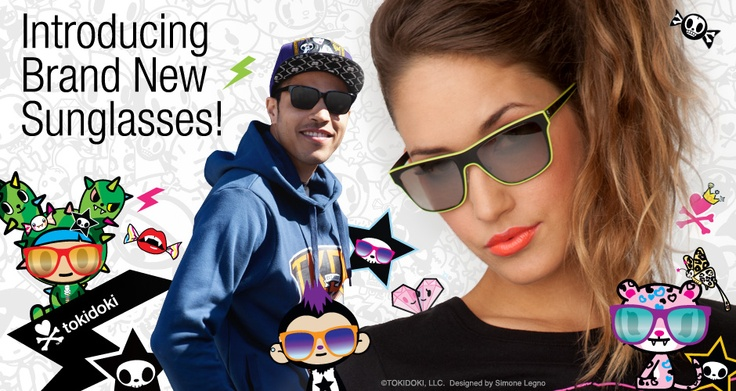 tokidoki summer sunglasses!