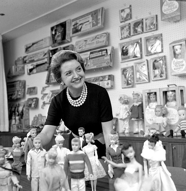 Ruth handler. Co-founder of Mattel -- the woman who brought Barbie to the masses.